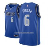 Camiseta Dallas Mavericks DeAndre Jordan #6 Icon 2018 Azul
