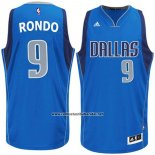 Camiseta Dallas Mavericks Rajon Rondo #9 Azul