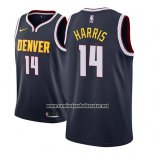 Camiseta Denver Nuggets Gary Harris #14 Icon 2018-19 Azul