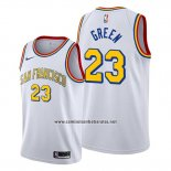 Camiseta Golden State Warriors Draymond Green #23 Classic Edition 2019-20 Blanco