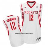 Camiseta Houston Rockets Dwight Howard #12 Blanco