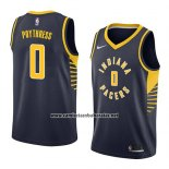 Camiseta Indiana Pacers Alex Poythress #0 Icon 2018 Azul