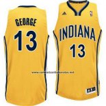 Camiseta Indiana Pacers Paul George #13 Amarillo