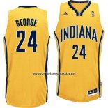 Camiseta Indiana Pacers Paul George #24 Amarillo