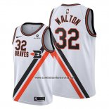 Camiseta Los Angeles Clippers Bill Walton #32 Classic Edition 2019-20 Blanco