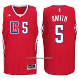Camiseta Los Angeles Clippers Josh Smith #5 Rojo