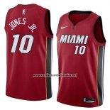Camiseta Miami Heat Derrick Jones Jr. #10 Statement 2018 Rojo