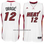 Camiseta Miami Heat Goran Dragic #12 Blanco