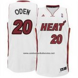 Camiseta Miami Heat Greg Oden #20 Blanco