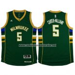 Camiseta Milwaukee Bucks Michael Carter-Williams #5 Verde