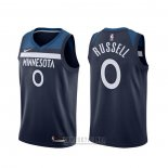 Camiseta Minnesota Timberwolves D'angelo Russell #0 Icon Azul