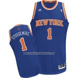 Camiseta New York Knicks Amar'e Stoudemire #1 Azul
