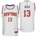 Camiseta New York Knicks Joakim Noah #13 Blanco