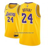 Camiseta Nino Los Angeles Lakers Kobe Bryant #24 Icon 2018-19 Amarillo