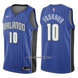 Camiseta Orlando Magic Evan Fournier #10 Icon 2017-18 Azul