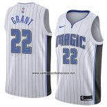 Camiseta Orlando Magic Jerian Grant #22 Association 2018 Blanco