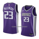 Camiseta Sacramento Kings Ben Mclemore #23 Icon 2018 Violeta