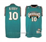 Camiseta Vancouver Grizzlies Mike Bibby #10 Historic Retro Verde