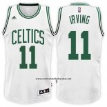 Camiseta Boston Celtics Kyrie Irving #11 Blanco