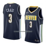 Camiseta Denver Nuggets Torrey Craig #3 Icon 2018 Azul