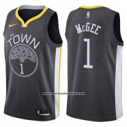 Camiseta Golden State Warriors Javale Mcgee #1 The Town Statement 2017-18 Negro