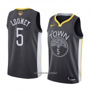 Camiseta Golden State Warriors Kevon Looney Statement 2017-18 Gris