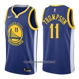 Camiseta Golden State Warriors Klay Thompson #11 Icon 2018 Azul