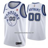 Camiseta Golden State Warriors Nike Personalizada 17-18 Blanco