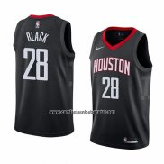 Camiseta Houston Rockets Tarik Black #28 Statement 2018 Negro