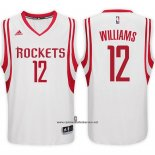 Camiseta Houston Rockets Troy Williams #12 Blanco