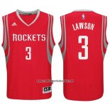 Camiseta Houston Rockets Ty Lawson #3 Rojo