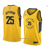 Camiseta Indiana Pacers Al Jefferson #25 Statement 2018 Amarillo