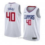 Camiseta Los Angeles Clippers Ivica Zubac #40 Association 2018 Blanco