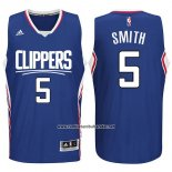 Camiseta Los Angeles Clippers Josh Smith #5 Azul