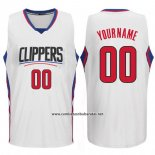 Camiseta Los Angeles Clippers Personalizada Blanco