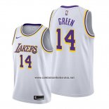 Camiseta Los Angeles Lakers Danny Green #14 Association Blanco