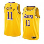 Camiseta Los Angeles Lakers Joel Berry Ii #11 Icon 2018-19 Amarillo