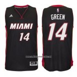 Camiseta Miami Heat Gerald Green #14 Negro