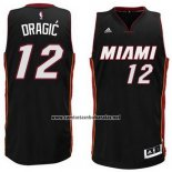 Camiseta Miami Heat Goran Dragic #12 Negro