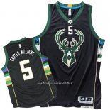 Camiseta Milwaukee Bucks Michael Carter-Williams #5 Negro