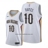 Camiseta New Orleans Pelicans Jaxson Hayes #10 Association 2019-20 Blanco