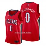 Camiseta New Orleans Pelicans Nickeil Alexander-Walker #0 Statement Rojo