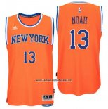 Camiseta New York Knicks Joakim Noah #13 Naranja
