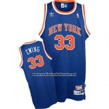 Camiseta New York Knicks Patrick Ewing #33 Retro Azul