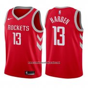 Camiseta Nino Houston Rockets James Harden #13 Icon 2017-18 Rojo
