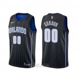 Camiseta Orlando Magic Aaron Gordon #00 Statement Negro
