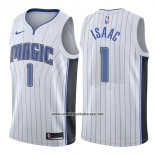 Camiseta Orlando Magic Jonathan Isaac #1 Association 2017-18 Blanco