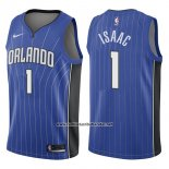 Camiseta Orlando Magic Jonathan Isaac #1 Icon 2017-18 Azul