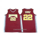 Camiseta Pelicula Richmond Timo Cruz #22 Rojo