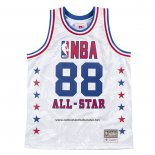 Camiseta All Star 1988 AAPE x Mitchell & Ness Blanco